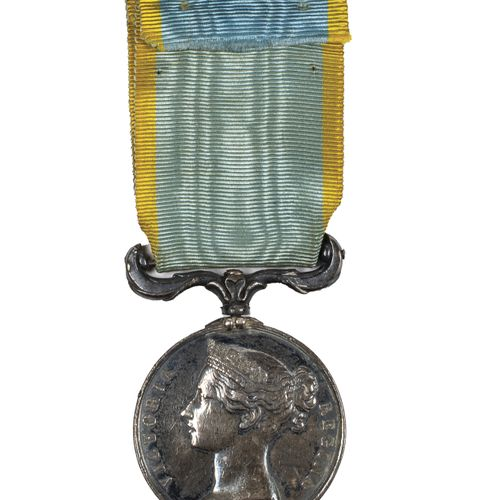 Second Empire. Crimea medal in silver, English model not attributed. B.E. With g…