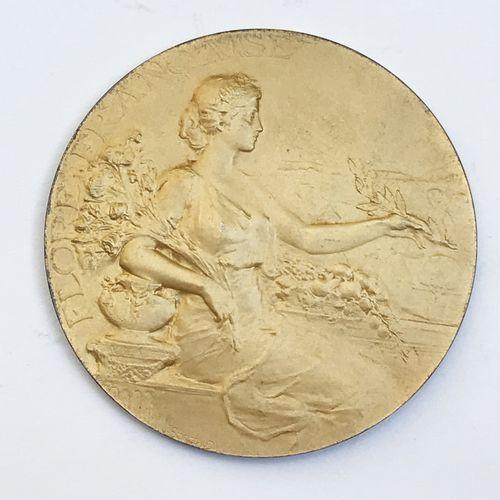 Société d'Horticulture de France. «Rosiers mai 1910».  Par J . Borgeaud. Médai…