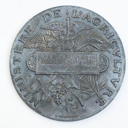 Ministère de l'Agriculture. Par H. Ponscarme.  «Paris 1901 Concours général agr…