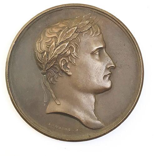 Napoléon Ier. Institution de la Légion d'Honneur.  Médaille en bronze. Par Andri…