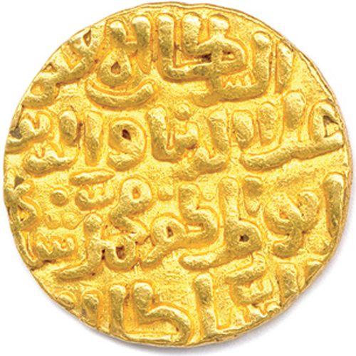 INDE Sultanat de DELHI ALA AL DIN MUHAMMAD  695 715 (1296 1316)  Tanka en or. (1…
