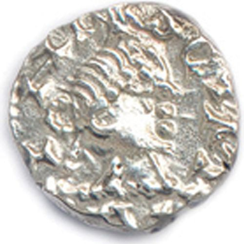 LES MÉROVINGIENS début du VIIIe siècle  (légendes incomplètes). + SCI MARTINI.  …