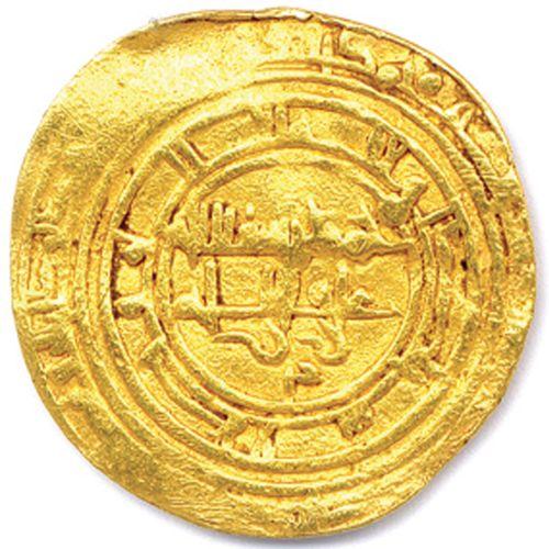 AFGHANISTAN Dynastie des GHAZNAWIDES MAS'UD  421 432 (1031 1040)  Dinar en or fr…