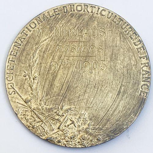 Société d'Horticulture de France. «Rosiers 9bre 1905 ».  Par J . Borgeaud. Méda…