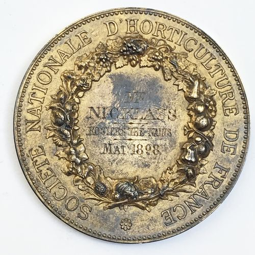 Société d'Horticulture de France. «Rosiers Thé nains mai 1898 ».  Par A. Borrel…