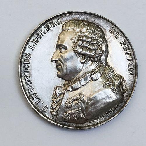 Médaille en argent. Par F. Hedlinger. Association des Naturalistes. Levallois Pe…