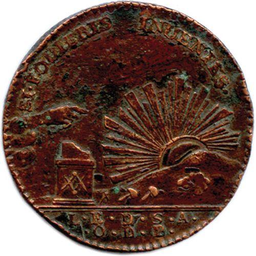 SAINT ALEXANDRE D'ÉCOSSE 1783  Un autre exemplaire. Tranche cannelée. Labouret 2…