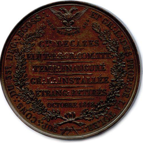 SUPRÊME CONSEIL DE FRANCE DECAZES 1818.  A LOUIS XVIII ROI DE FRANCE L'ECOSSISME…