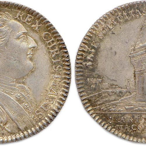 LES AMIS DE LA LIBERTÉ  LUD. XVI. REX. CHRISTIANISS. Louis XVI, roi très chrétie…