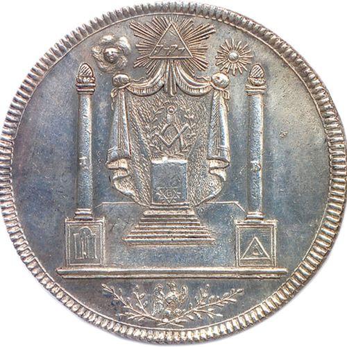 SAINT JEAN DE LA PALESTINE  Légende: LOGE DE ST J∴ DE LA PALESTINE O∴ DE PARI…
