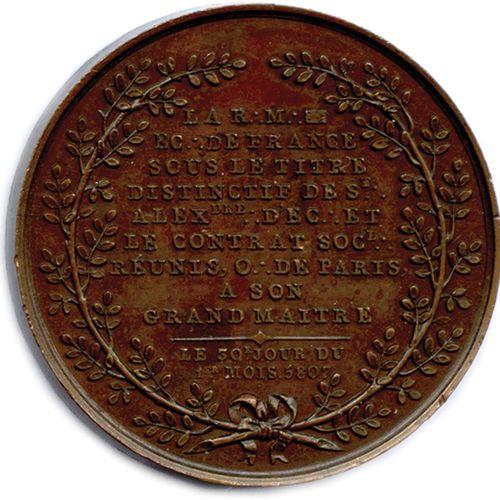 MÈRE LOGE ÉCOSSAISE DE FRANCE CAMBACÉRÈS 1807.  ★ J. J. REGIS CAMBACERES PRINCE …