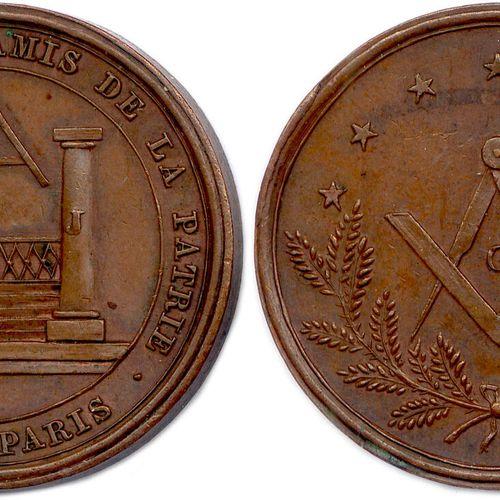 LES AMIS DE LA PATRIE 1818   ∴ ET CHAP ∴ DES AMIS DE LA PATRIE. O ∴ DE PARIS. D…