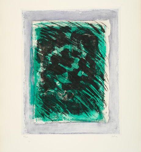 Jean FAUTRIER Jean FAUTRIER (1898 1964) The forest, 1964 Aquatint and wash on Ar…