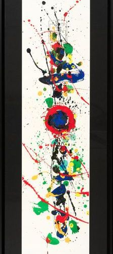Sam FRANCIS Sam FRANCIS (1923 1994) Typesetting Lithograph, signature stamp on t…