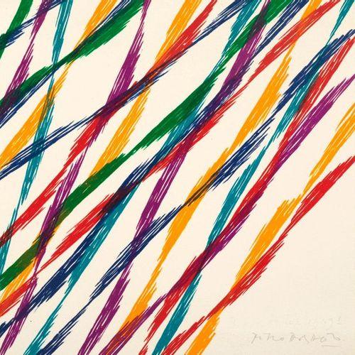 PIERO DORAZIO Piero DORAZIO (1927 2005) Composition Lithograph Signed in pencil …