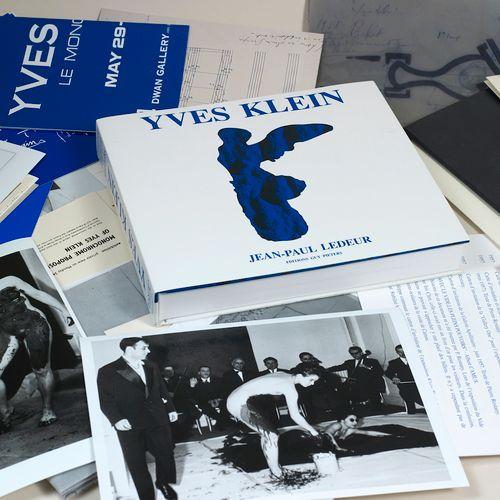 Yves KLEIN YVES KLEIN (1928 1962) Catalogue raisonné des éditions et sculptures,…