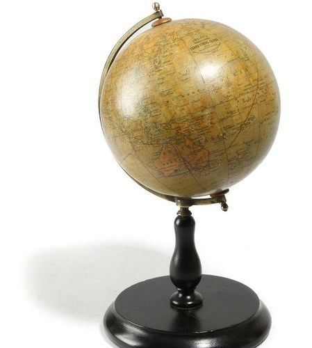 A TERRESTRIAL GLOBE BY PHILIP'S EARLY 20TH CENTURY the six inch globe made of tw…