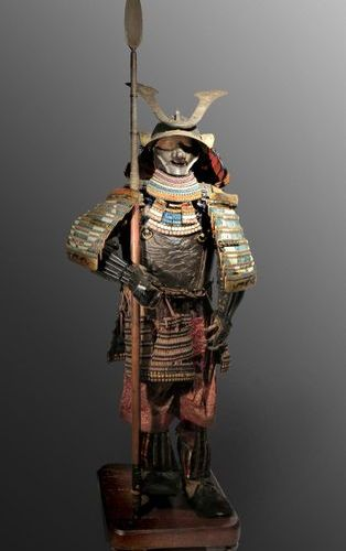A JAPANESE COMPOSITE ARMOUR, GUSOKU LATE MOMOYAMA/EARLY EDO, 17TH CENTURY The ir…