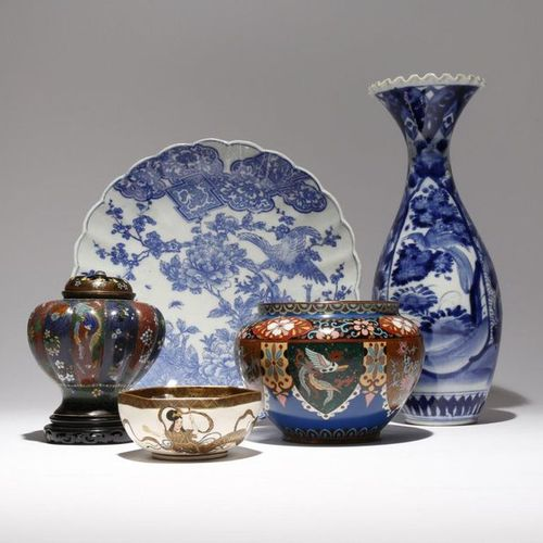 A COLLECTION OF JAPANESE PIECES MEIJI PERIOD AND LATER, 19TH AND 20TH CENTURY Co…