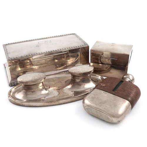 A mixed lot of silver items, various dates and makers, comprising: an Edwardian …