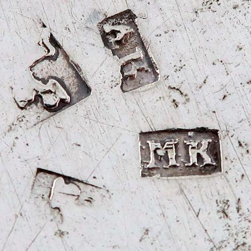 A mid 18th century Russian silver beaker, maker's mark MK, assay master A. Kuzmi…