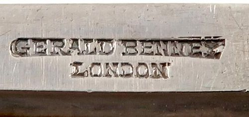 By Gerald Benney, a modern silver and gold box, London 1966, with incuse number …