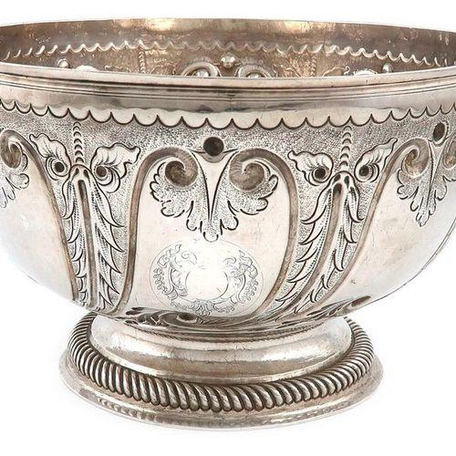 Coupe à deux anses en argent de la reine Anne, par Robert Timbrell, Londres 1702…