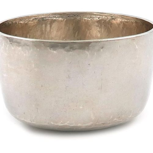 A Queen Anne provincial silver tumbler cup, maker's mark script MA conjoined att…