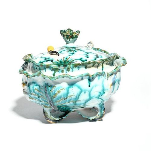 A Brussel faïence cabbage tureen and cover mid 18th century, probably by Philipp…