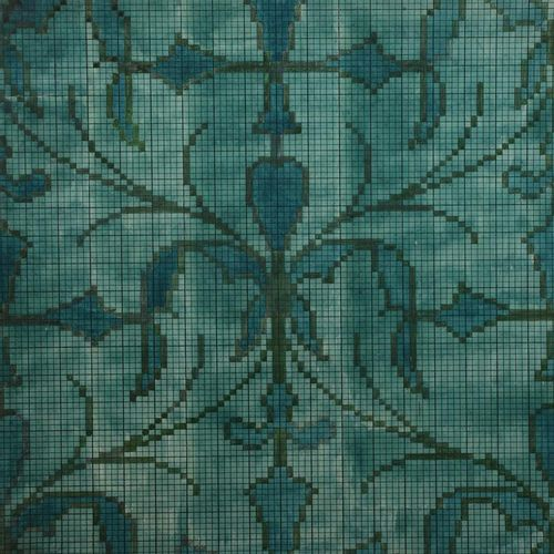 Charles Francis Annesley Voysey (1857 1941) Design for a Tomkinsons carpet (Gree…