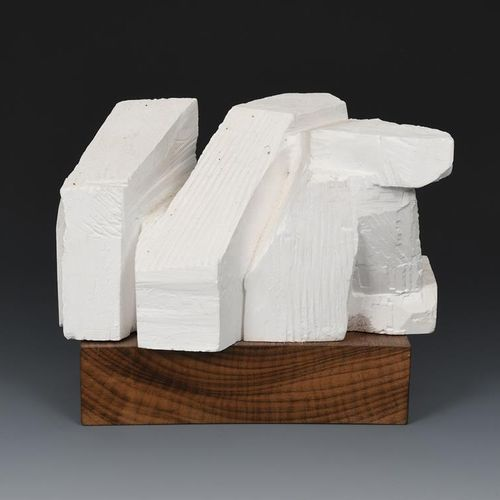 Keith Newstead (born 1943) Big Fine Woman plaster maquette for large carving, on…