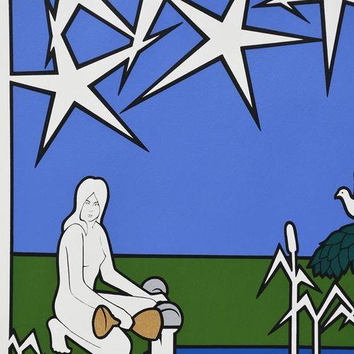 泰勒 麦考尔,《塔罗牌大阿卡纳》,1974年由泰勒 麦考尔绘制,1975年由Bocaccio Santa Fe出版,限量版对开,22张丝网印刷品,泰勒 麦考尔签…