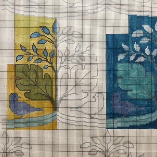 Charles Francis Annesley Voysey (1857 1941) Design for a Tomkinsons carpet (Bird…