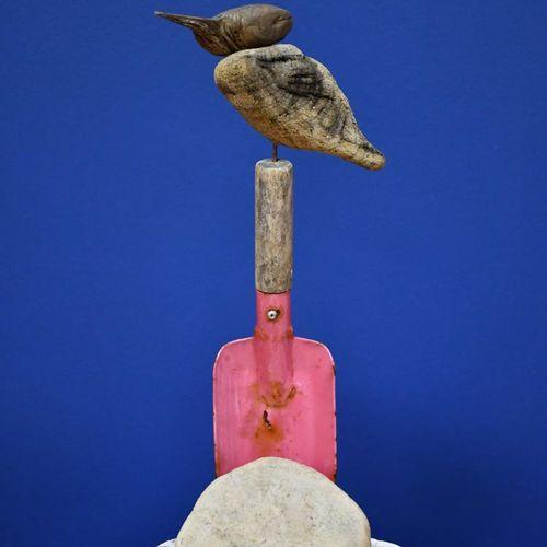 ‡ Sid Burnard (born 1948) Rockpool No.1 2010 driftwood sculpture signed Sid Burn…