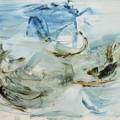 Jon Catleugh (1920 2009) Untitled 1961 acrylique sur papier, monté, trois peintu…