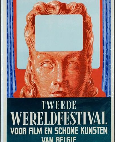 Magritte (1898 1967). Film Festival of 1949. Poster. Dimensions: 120 x 77 cm.
