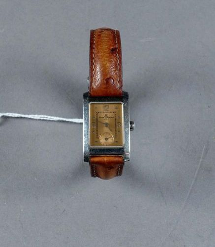 Baume et Mercier Hampton (circa 1990). Lady's wristwatch. Rectangular bezel. Fun…