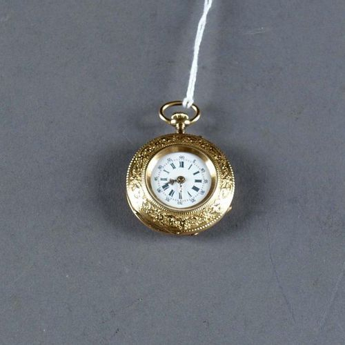 Dubois (Genève). Little pocket watch. Functional manual movement with ten jewels…