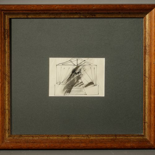 Christian BERARD (1902 1949) Dancing couple Ink on paper 8,5 x 12 cm Provenance:…