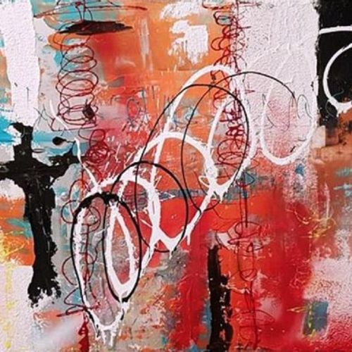 CB.MILLET Acrylique sur toile 81 x 100 cm signée.    Frais de transport offerts …