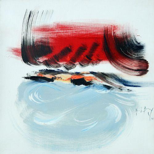 """BERRARD Mireille """"Nuit d'Amour de Berlioz""""  Acrylique sur toile signée.    Frais…"""