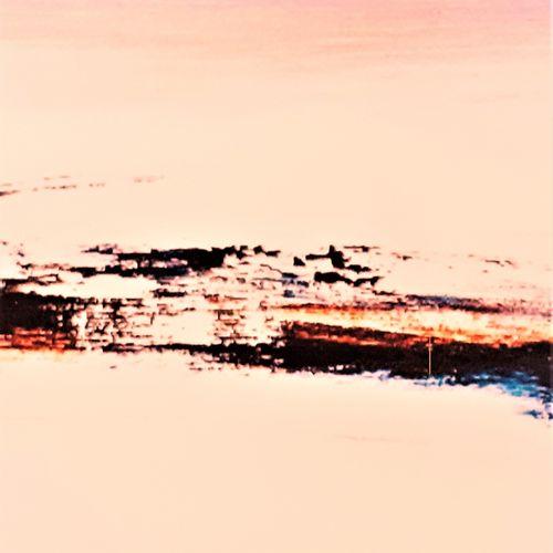 """CHRIS """"Au Coeur du Silence N° 18"""" PeintureHuile et Acrylique réalisée au coutea…"""
