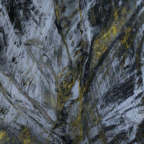 """CORMIER Annick """"Lave 1"""" Acrylique sur toile 46 x 61 cm signée.    Frais de trans…"""