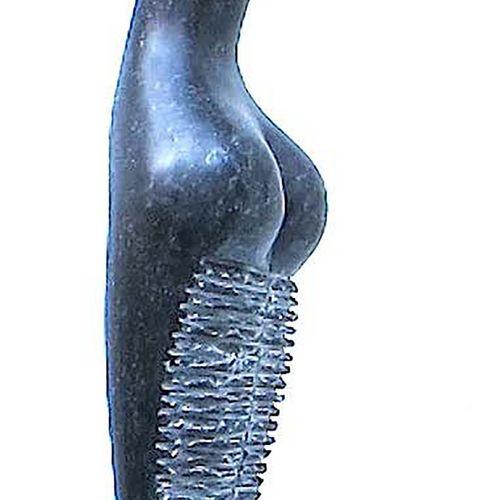 "SAVA Marian ""Labyrinthe"" Petit granit belge 95 x 15 x 15 cm 2012 taille directe …"