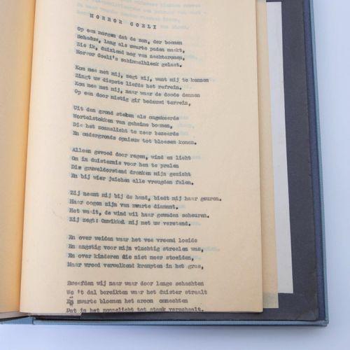 (Hermans) W.F. Hermans, Horror Coeli en andere gedichten. S.L.N., (1945). In 4°.…