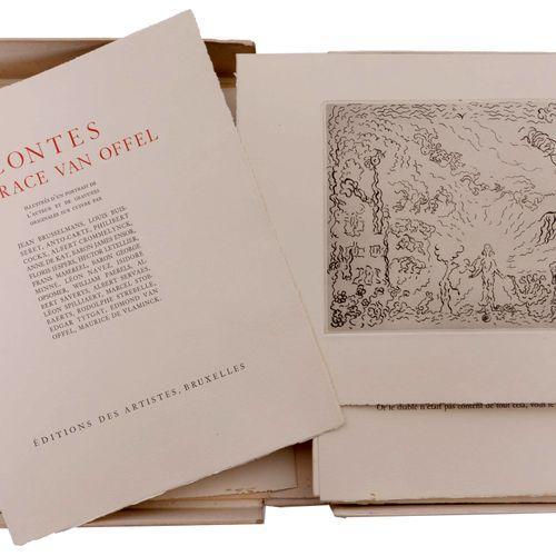(Van Offel) Horace Van Offel, Contes. Bruxelles, Editions des Artistes, (1935). …