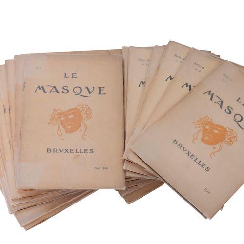 (Lemmen) Le Masque. Revue mensuelle illustré d'Art & de Littérature. Rédaction: …