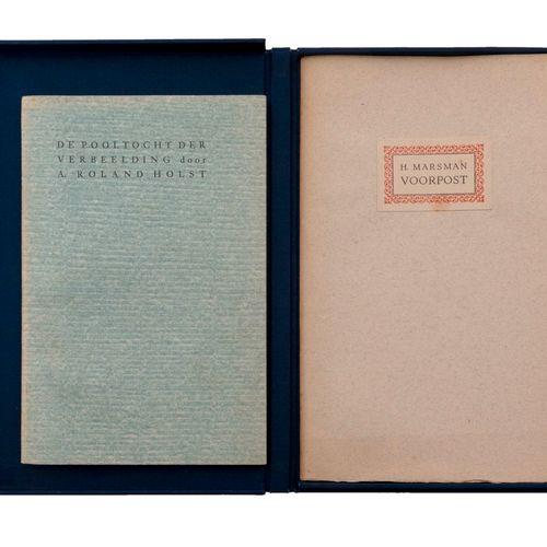 (Marsman) Hendrik Marsman, Voorpost. Brussel, A.A.M. Stols, 1931. In 8°. 21 gen.…