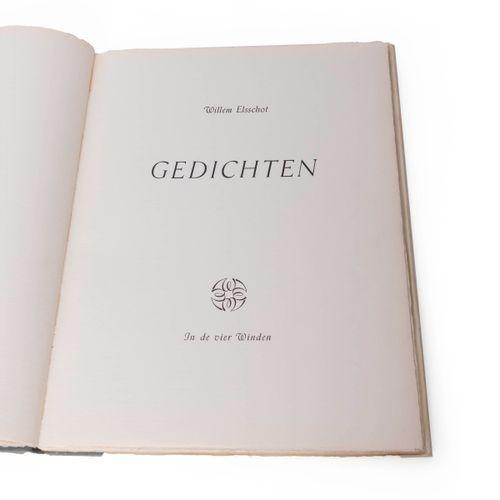 (Elsschot) Willem Elsschot, Poems. (Antwerp), In de vier Winden, (1954). In fol.…