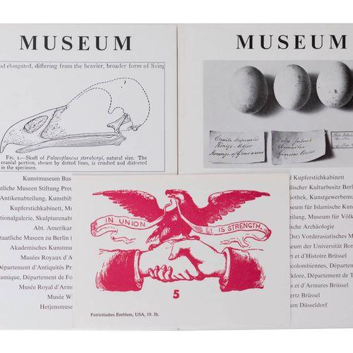 (Broodthaers) Marcel Broodthaers, Museum. Der Adler von Oligozän bis heute. Zeig…